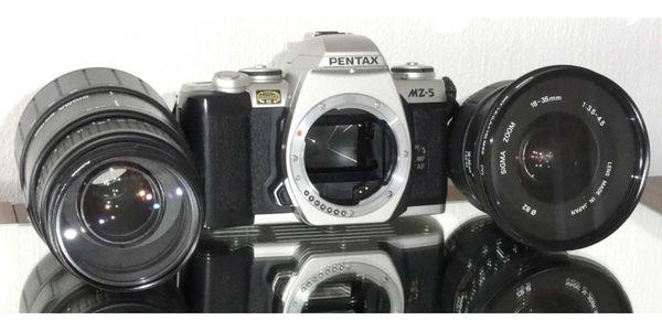 Canon Eos 1000fn 2 Objektive 80-200mm 35-80 Mm Einwandfrei Top Zustand Analoge Fotografie Analogkameras