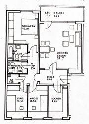 Großzügige helle 4-Zimmer-Wohnung in Alterlangen