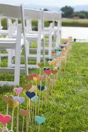 Herzstecker freie Trauung Hochzeit