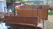 geschirr kutsche planwagen wagonette Einspänner