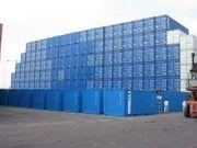 20 40 Fuß Container zu