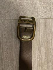 Diesel Gürtel Braun Neu 86-94