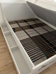 Bett Ikea Brusali 140 x
