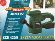 Exzenterschleifer KingKraft KCE 420 E