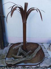 Gartenpalme Deko Rost