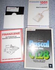 Commodore 128 Bücher - Pascal und