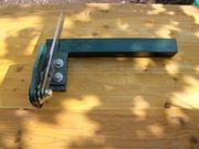 Rollblechschere für Blechtafeln zu schneiden