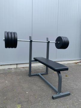Hantelscheiben Hantelstange Gewichte für Hantelbank: Kleinanzeigen aus Bonn Alt-Godesberg - Rubrik Fitness, Bodybuilding