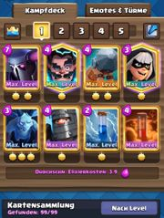 Clash Royale Account 42 Max