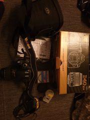 Nikon D40 mit Zubehör