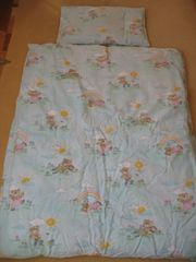 Kinder Vierjahreszeitenbett Paradies Daunen-Kissen Moby
