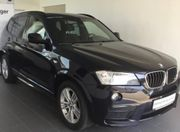 BMW X3 schwarz Servicegepflegt M-Paket