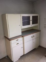 Küchenkasten und Kommode