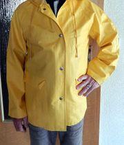 Gelbe Damen Regenjacke Küstennerz Gr