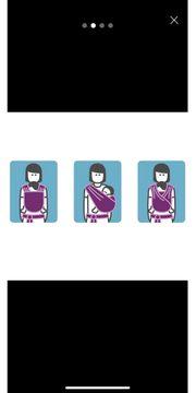 Manduca sling Tragetuch