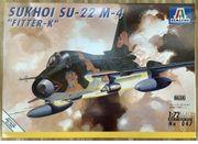 Italeri Su-22 M-4 1 72