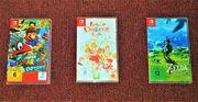 Nintendo Switch Spiele Zelda Super