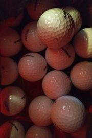 Golfballe weiss