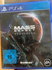 Verkaufe PS 4 Spiel Mass
