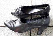 schwarzer Schuh Gr 37 neu