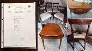 Antiker Pembroke Tisch Mahagoni 1810