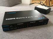 LIGAWO HDMI Matrix 4 zu