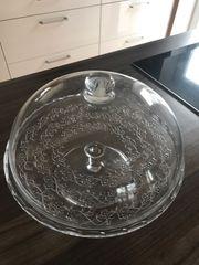 Kuchenglocke aus Glas