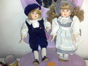 Porzellan -Puppen
