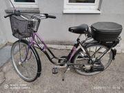 Saxonette Herkules Fahrrad mit Hilfsmotor