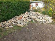 Mauerreste zu verschenken