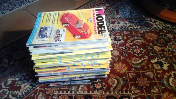 65 Zeitschriften Modellmagazin