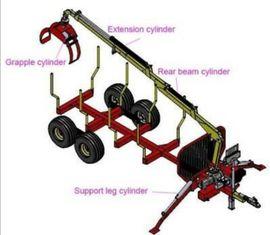 Traktoren, Landwirtschaftliche Fahrzeuge - LT3000 Kran Aufbauset mit Pumpe