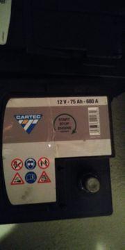 autobatterie 75 Ah 680 A