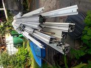 gebrauchte Aluminiumprofile für z Bsp