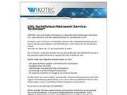 LWL-Installateur Netzwerk-Service-Techniker m w d
