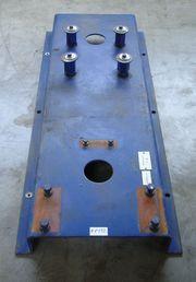 Montageplatte Grundplatte aus Profilstahl für