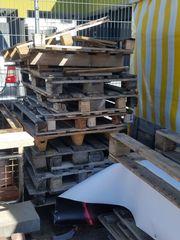 KOSTENLOS - Paletten Holz Brennholz Bretter