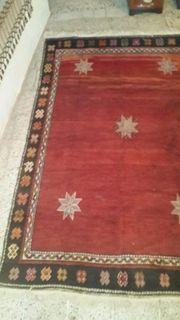 Antiker Handgewebter Teppiche 270 180