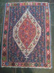 Teppich - Kelim - gewebter Teppich - Schurwolle