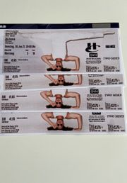 4x Apache 207 Ticket Hannover