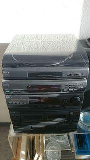 Stereoanlage SONY ohne Plattenspieler