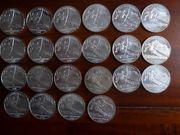 Silber -Silber - 22 x 10EUR Münzen