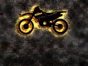 3D Effekt LED Wandbild KTM