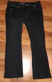 DBC Damen Bootcut Jeans W30