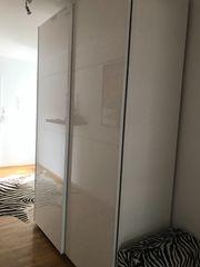 weißer Lack Ikea-Schrank inkl passender