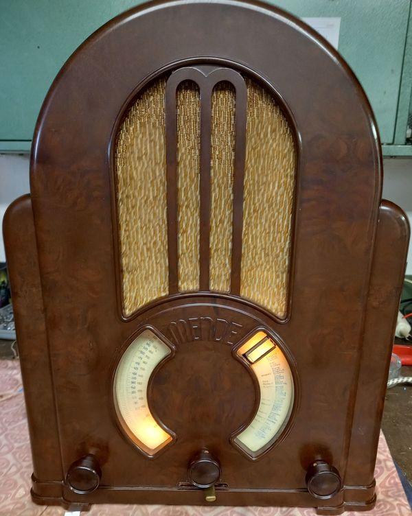 Volksempfänger , Röhrenradio , MENDE KATHEDRALE 1931 , Top Zustand