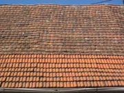 Dachzeigel Dachplatten Biberschwanz zu verschenken