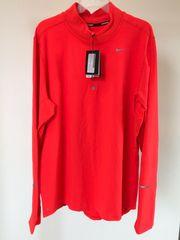 Nike Running langarm Shirt Orange