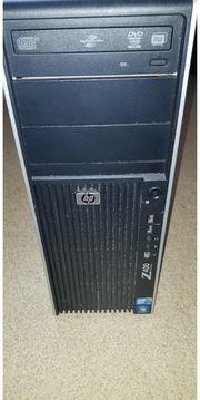 HP Z400 Workstation Voll funktionsfähig