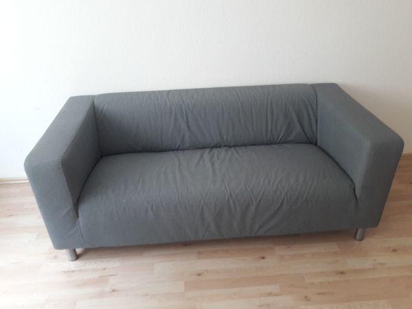 Sofa Klippan, Ikea mit grauem Bezug in Köln - Polster ...